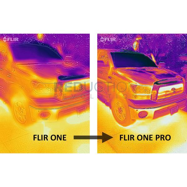 Flir One vs Pro vs Pro LT vs Seek Thermal Compact vs CompactPro