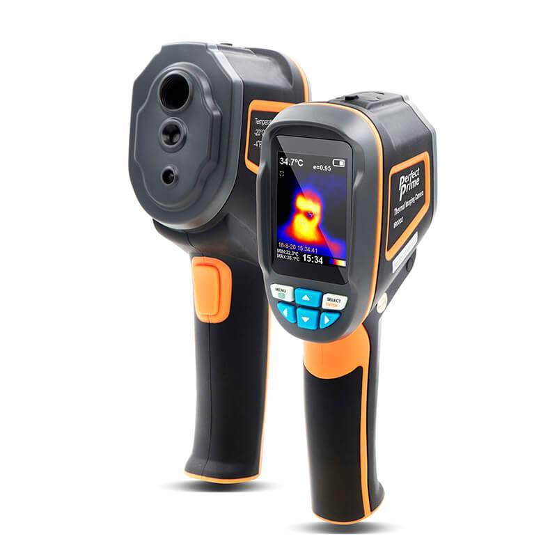 5 Thermal Cameras with a high Temperature Accuracy