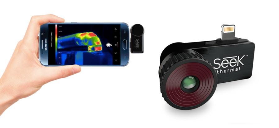 4 Best Thermal Infrared Cameras for Android phones