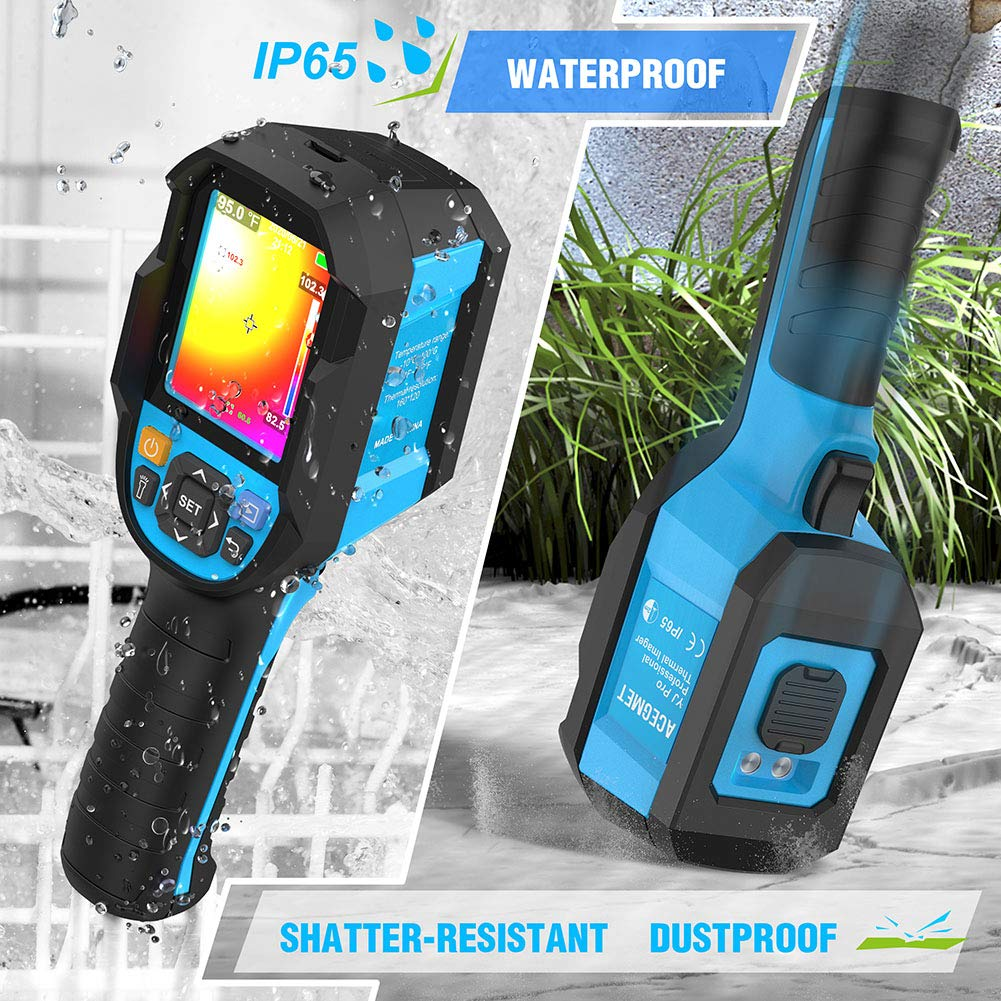 4 Waterproof Thermal Cameras with an IP 54 Rating